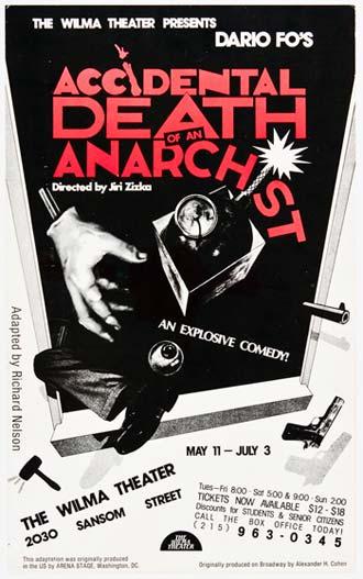 مرگ تصادفی یک آنارشیست