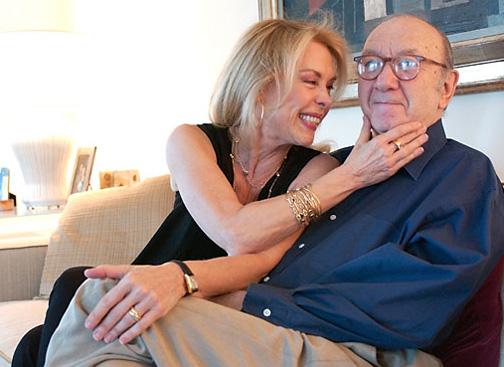 نیل سایمون و همسرش