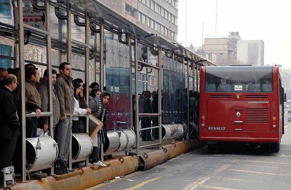 اتوبوس بی آر تی (BRT)