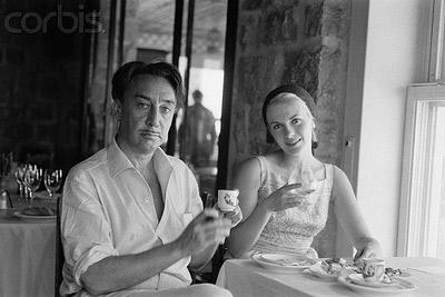 رومن گاری و همسرش جین سیبرگ